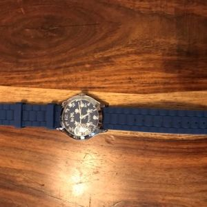 Coach Royal Blue Silicone Watch